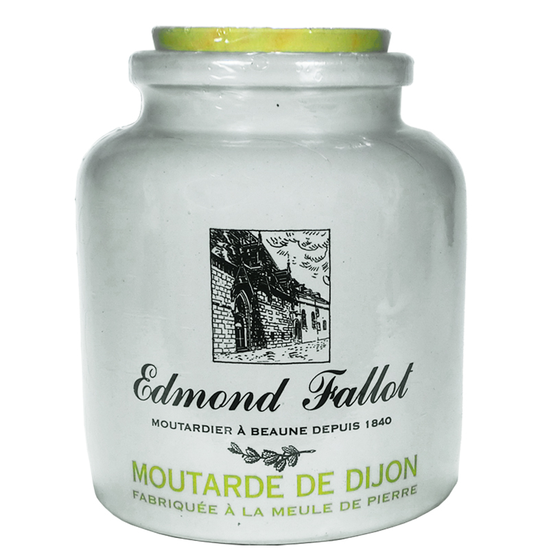 Moutarde de dijon en pot de gr s 500g fallot moutardes saveurs de bourgogne - Moutarde fallot vente ...