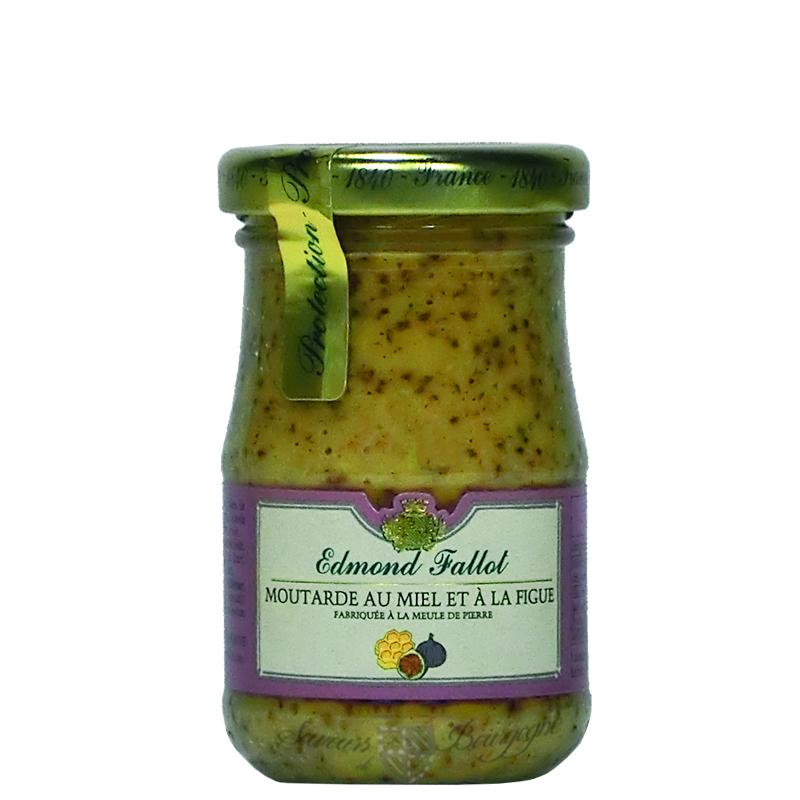Moutarde au miel et la figue 100g fallot moutardes saveurs de bourgogne v - Moutarde fallot vente ...