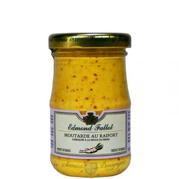 Moutarde au raifort 100g moutardes saveurs de bourgogne vente de produits d - Moutarde fallot vente ...