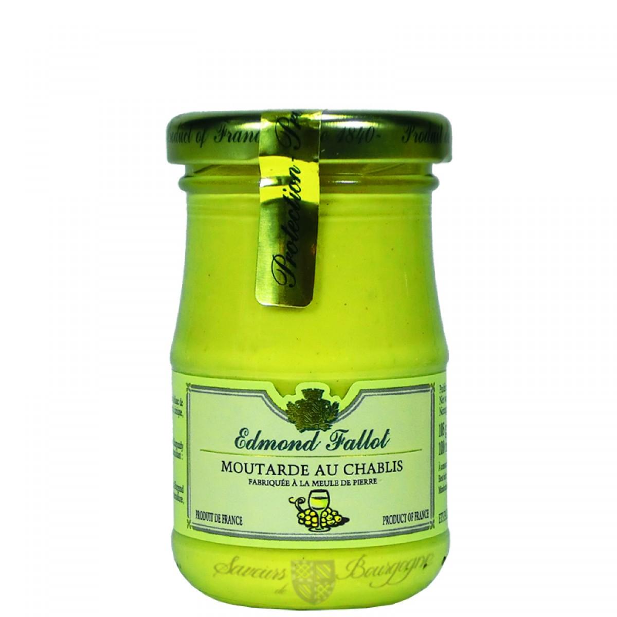 Moutarde au chablis 100g fallot saveurs de bourgogne vente de produits du - Moutarde fallot vente ...