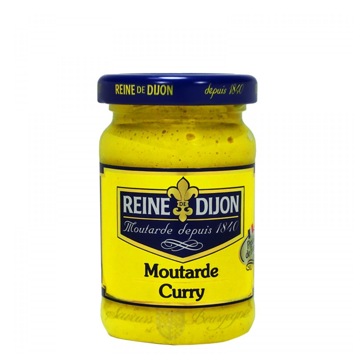 Moutarde au curry 100g saveurs de bourgogne vente de produits du terroir - Moutarde fallot vente ...