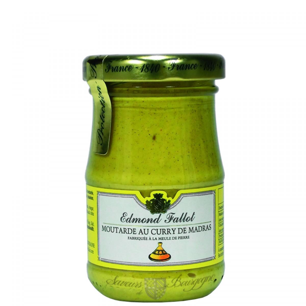 Moutarde au curry de madras 100g fallot saveurs de bourgogne vente de pro - Moutarde fallot vente ...