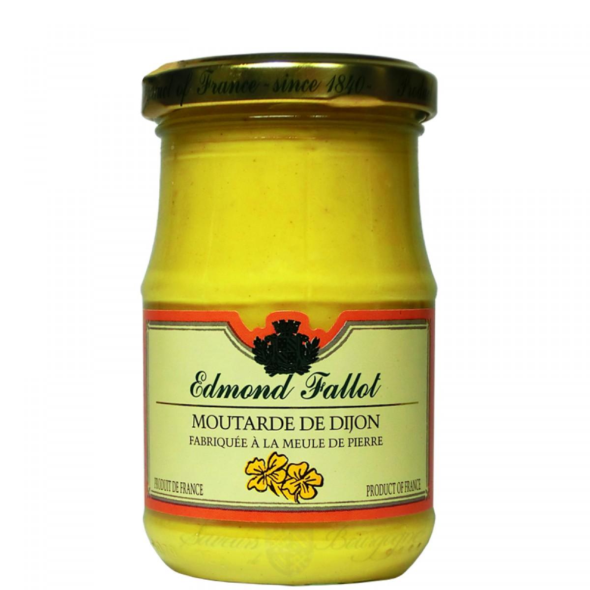 Moutarde de dijon 210g fallot saveurs de bourgogne vente de produits du t - Moutarde fallot vente ...