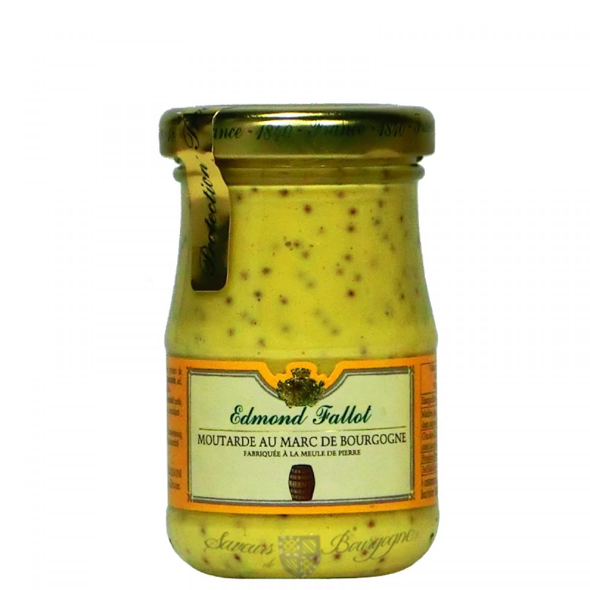 Moutarde au marc de bourgogne 100g fallot saveurs de bourgogne vente de p - Moutarde fallot vente ...