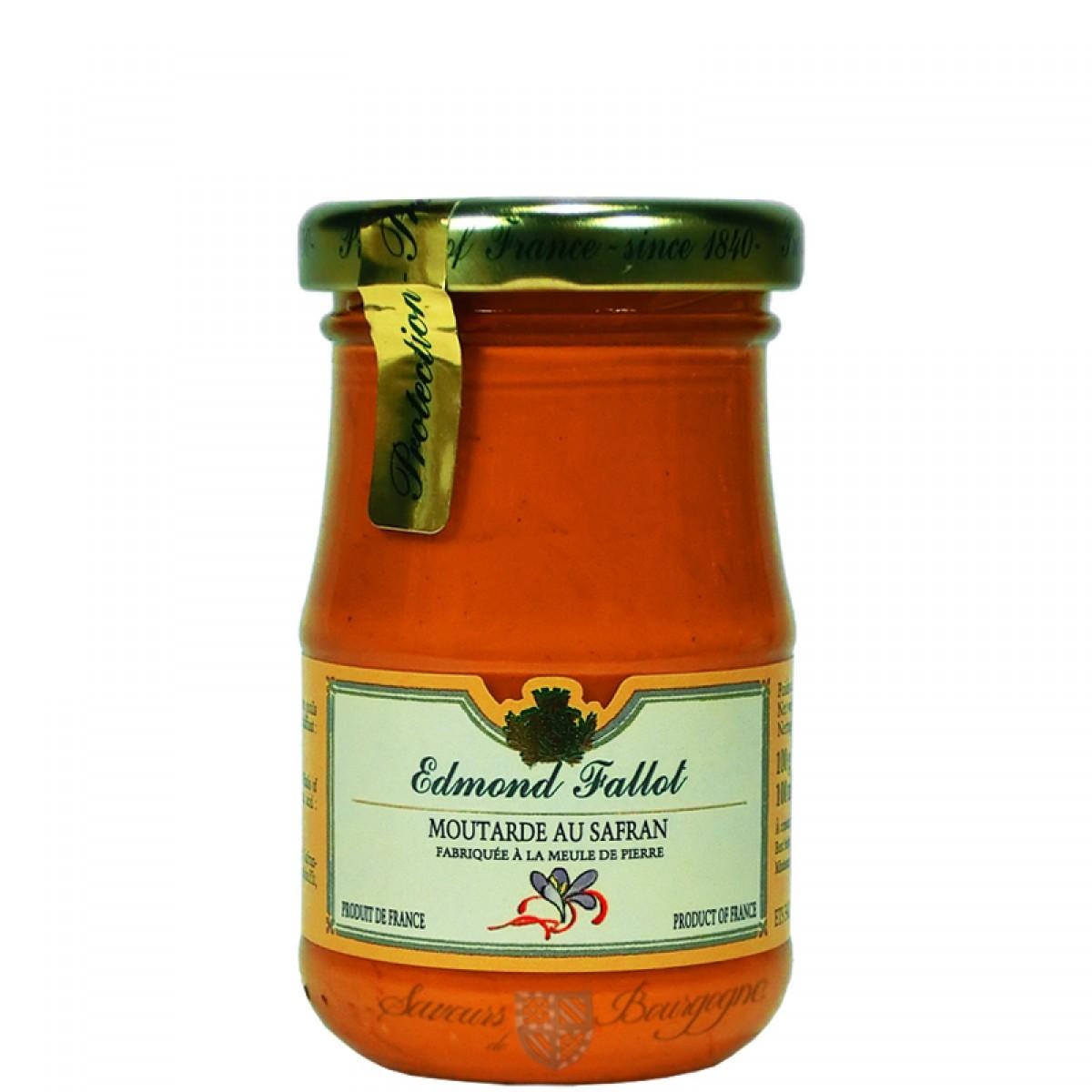 Moutarde au safran 100g fallot saveurs de bourgogne vente de produits du - Moutarde fallot vente ...