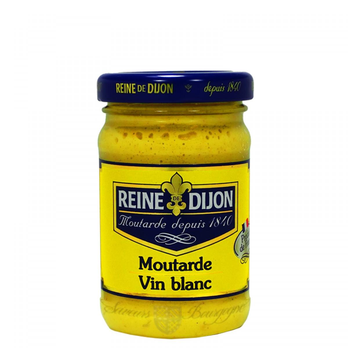 moutarde au vin blanc 100g saveurs de bourgogne vente de produits du terroir. Black Bedroom Furniture Sets. Home Design Ideas