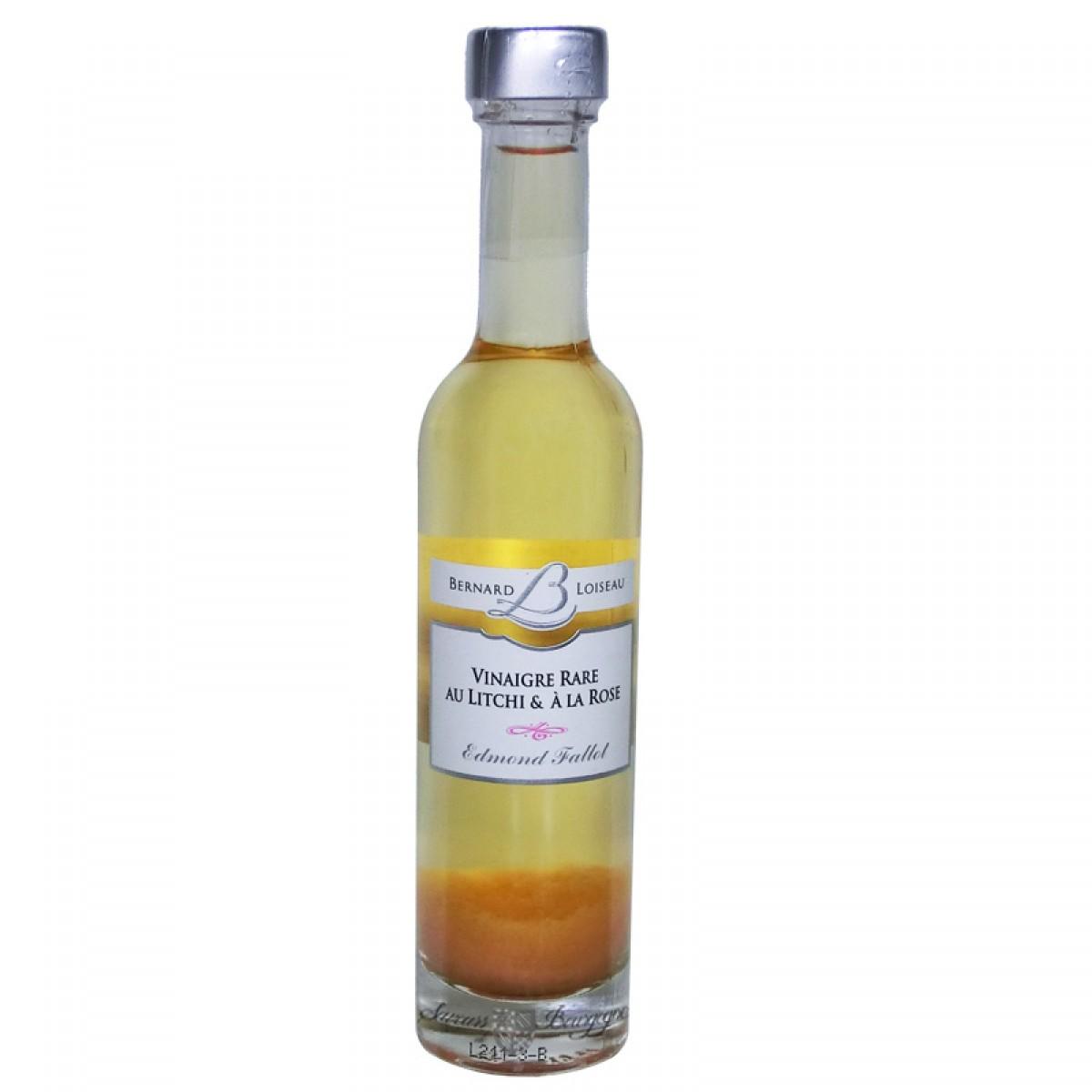 Vinaigre rare au litchi la rose 100ml saveurs de bourgogne vente de produits du terroir - Vinaigre blanc composition ...