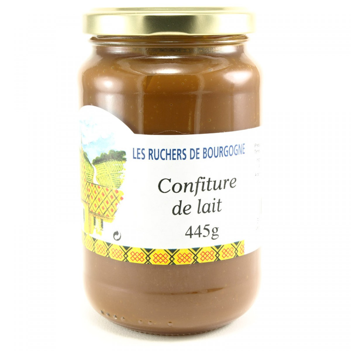 confiture de lait 445g saveurs de bourgogne vente de produits du terroir. Black Bedroom Furniture Sets. Home Design Ideas
