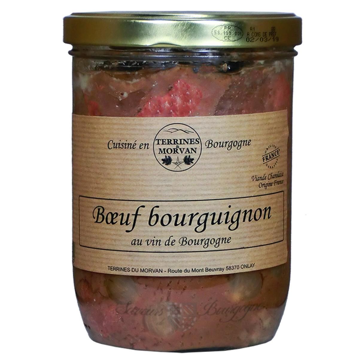 boeuf bourguignon au vin de bourgogne 750g saveurs de bourgogne vente de produits du terroir. Black Bedroom Furniture Sets. Home Design Ideas