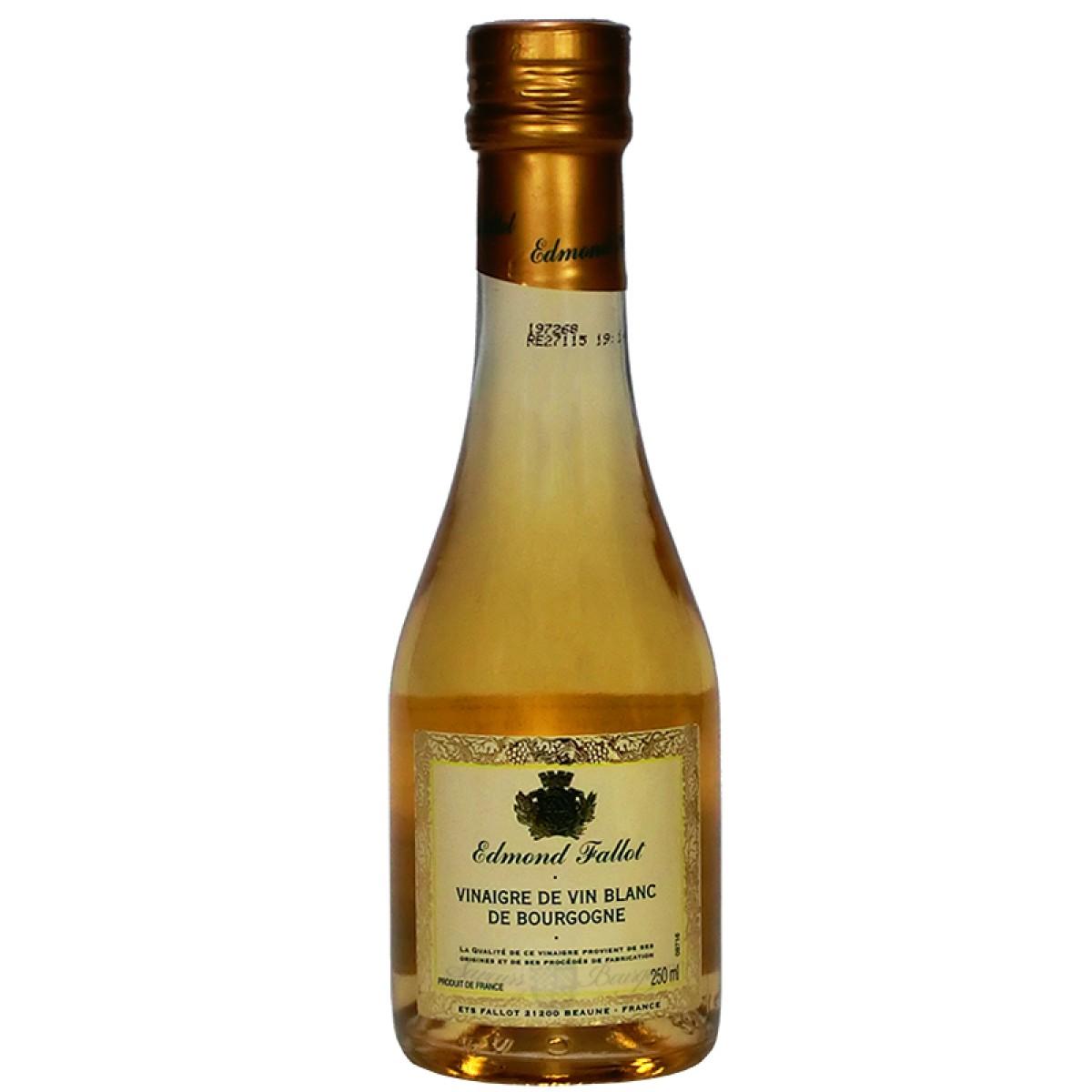 Vinaigre de vin blanc de bourgogne 250ml fallot saveurs de bourgogne vent - Moutarde fallot vente ...