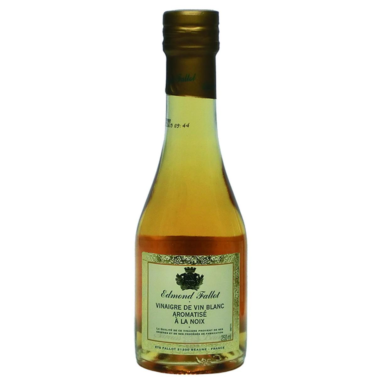 Vinaigre de vin blanc aromatis la noix 250ml fallot vinaigres sal s - Moutarde fallot vente ...