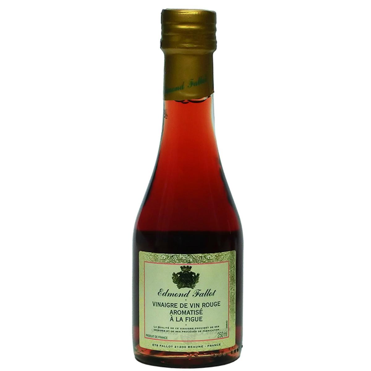 Vinaigre de vin rouge aromatis la figue 250ml fallot saveurs de bourgogn - Moutarde fallot vente ...