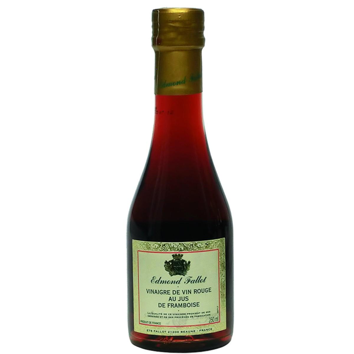 Vinaigre de vin rouge au jus framboise 250ml fallot saveurs de bourgogne - Moutarde fallot visite ...