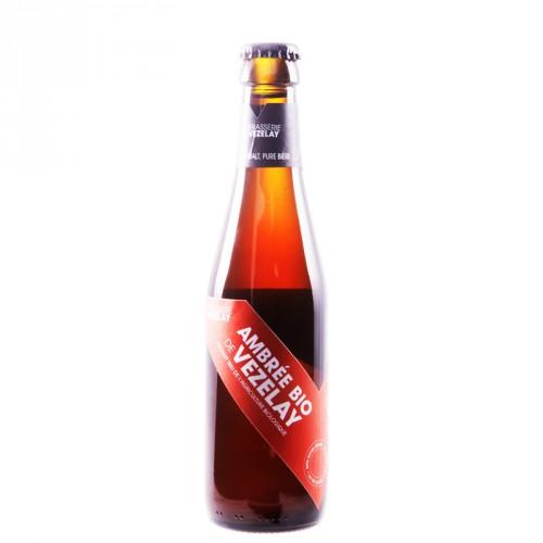Bière ambrée de Vézelay Bio 50cl