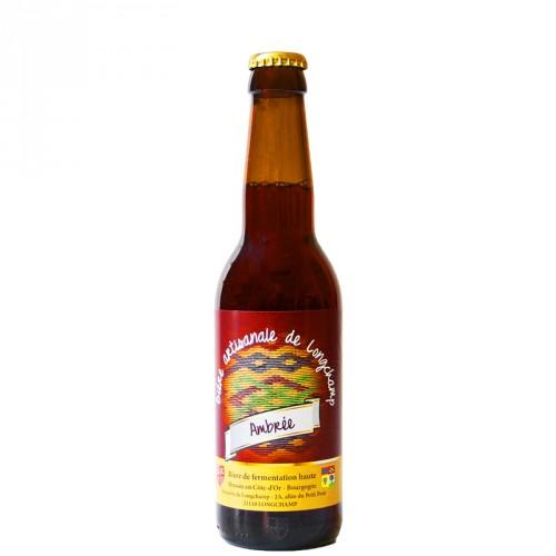 Bière ambrée Longchamp 33cl