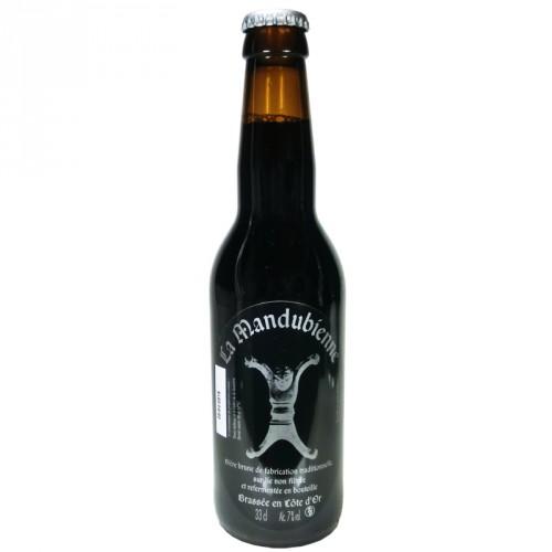 Bière brune Mandubienne 33cl Les 3 fontaines