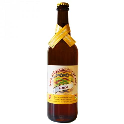 Bière blanche Longchamp 75cl