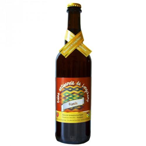 Bière blonde Longchamp 75cl