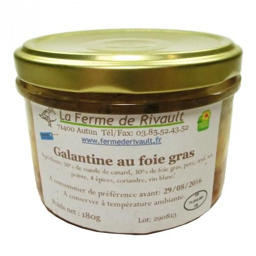 Galantine au Foie Gras180g