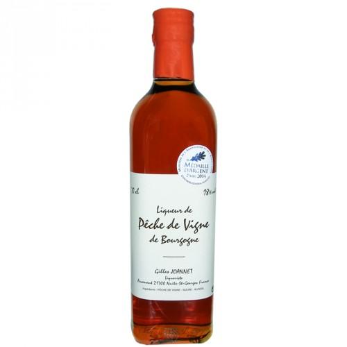 Liqueur de pêche de vigne de Bourgogne 18% 70cl Gilles Joannet