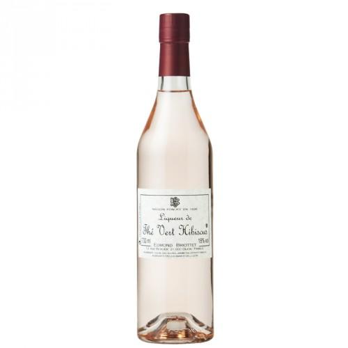 Liqueur thé vert hibiscus 18% 70cl Briottet