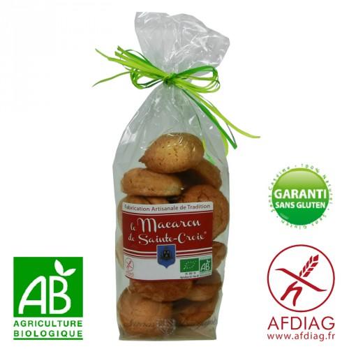 Macarons sans gluten Amande Bio citron 250g