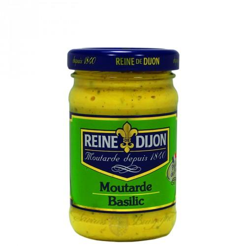 Moutarde au Basilic 100g Reine de Dijon