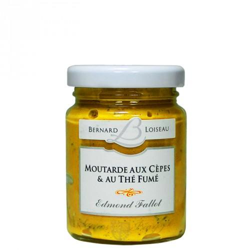 Moutarde aux cèpes et thé fumé 100g
