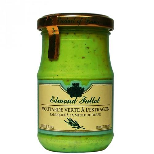 Moutarde verte à l'estragon 210g Fallot
