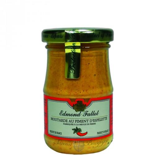 Moutarde au piment d 39 espelette 100g fallot saveurs de bourgogne vente - Moutarde fallot vente ...