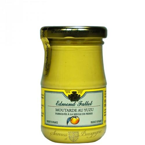 Moutarde au yuzu 100g fallot saveurs de bourgogne vente de produits du te - Moutarde fallot vente ...