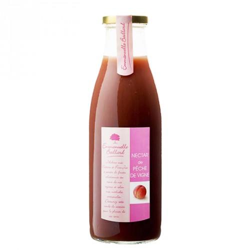 Nectar de pèche de vigne 75cl