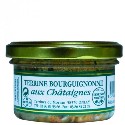 Terrine Bourguignonne aux châtaignes 80g