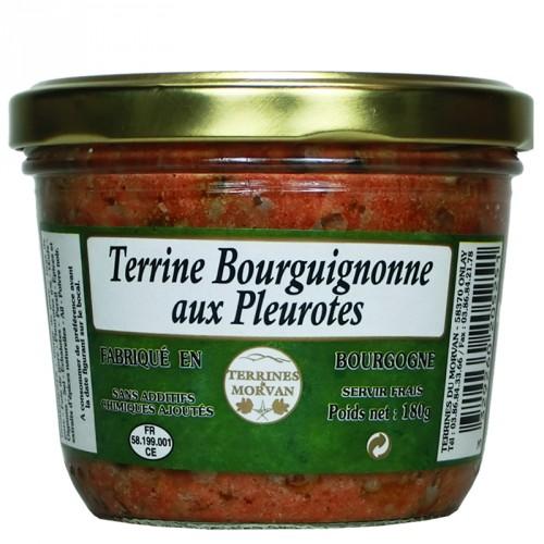 Terrine Bourguignonne aux pleurottes 180g