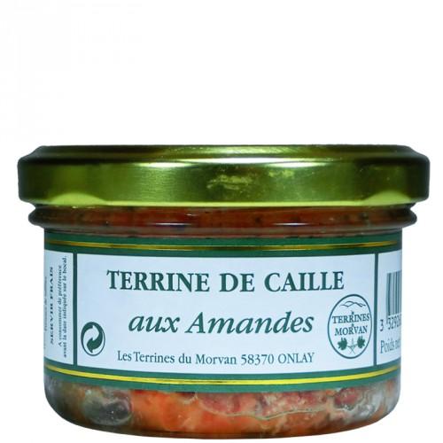 Terrine de Caille aux amandes 80g