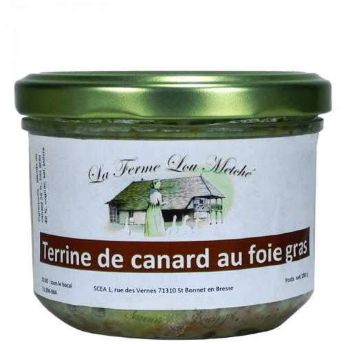 Terrine de canard au Foie gras 180g