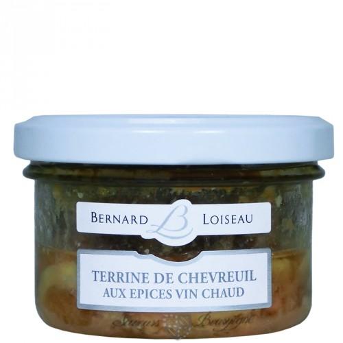 Terrine de Chevreuil aux épices vin chaud 80g