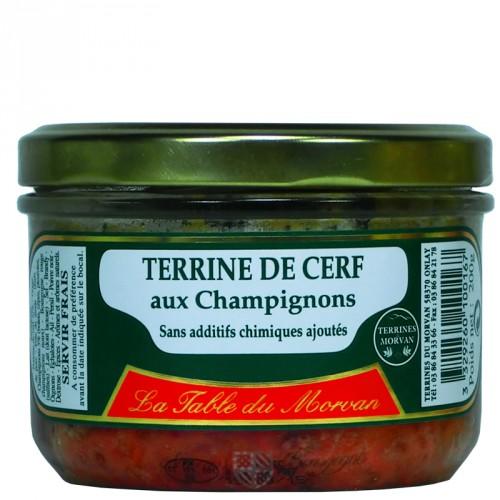 Terrine de Cerf aux champignons 200g
