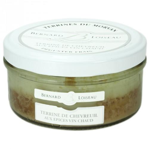 Terrine de Chevreuil aux épices vin chaud 140g