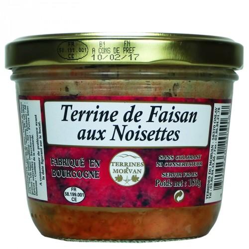 Terrine de Faisan aux noisettes 180g
