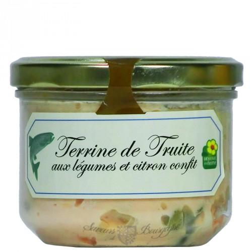 Terrine de Truite aux légumes et citron confit 200g