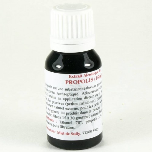 Extrait Alcoolique de Propolis 15ml