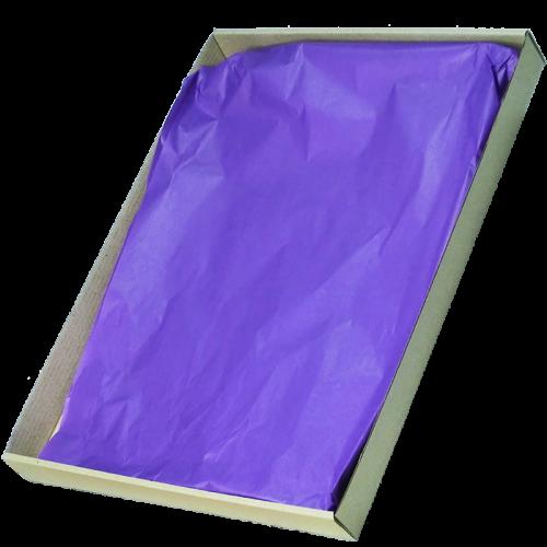 Barquette carton filmée