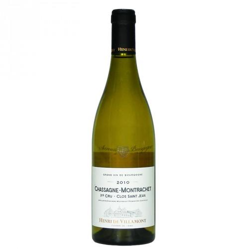 Chassagne-Montrachet 1er Cru - Clos Saint Jean - Henry Villamont 13% 75cl