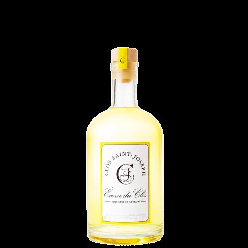 """Liqueur de Citron """"Écorce du Clos"""" 39% 50cl Clos St Joseph"""