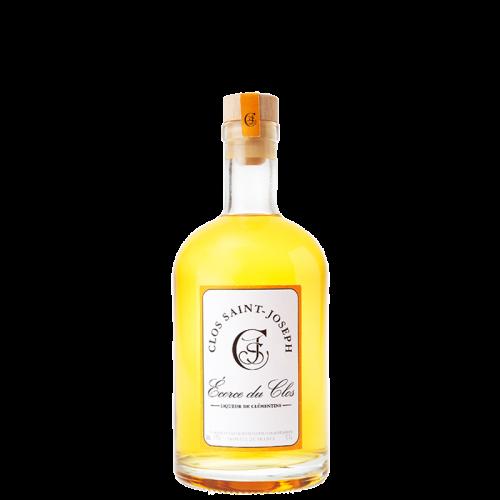 """Liqueur de Clémentine """"Écorce du Clos"""" 39% 50cl Clos St Joseph"""