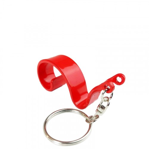 Gaston l'escargot porte clef rouge