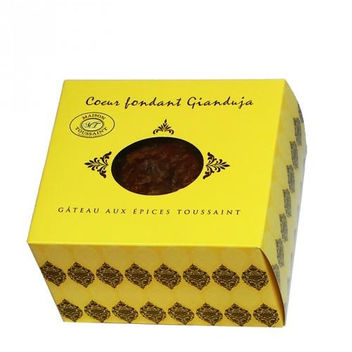 Gâteau aux épices  'Coeur fondant chocolat Gianduja' 250g Toussaint