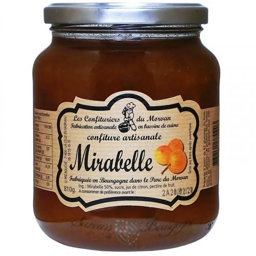 Confiture Mirabelle 810g Confiturier du Morvan