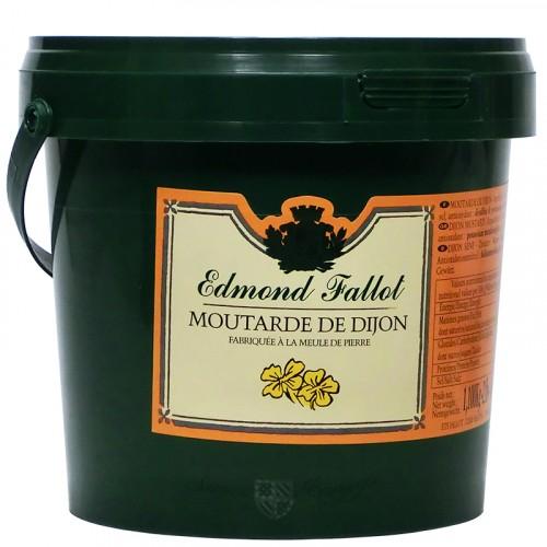 Moutarde de Dijon 1100g seau baby Fallot